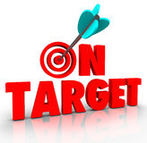http://www.dreamstime.com/royalty-free-stock-image-target-words-arrow-bull-s-eye-direct-hit-mission-progress-red-bulls-to-illustrate-aiming-perfection-image37417976
